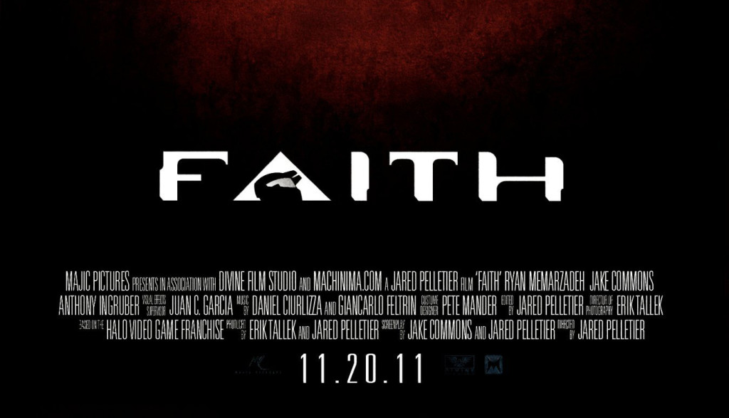 Halo; Faith the Movie Divine Film Studio in association with Majic Pictures launched our first Short Film's teaser which was shut down by Microsoft.